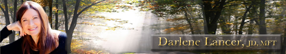 Santa Monica Counseling, Therapist in Santa Monica, Los Angeles, and Culver City, CA, California - Darlene Lancer, JD, MFT